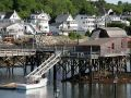 Footbridge, Boothbay Harbor - Midcoast Maine
