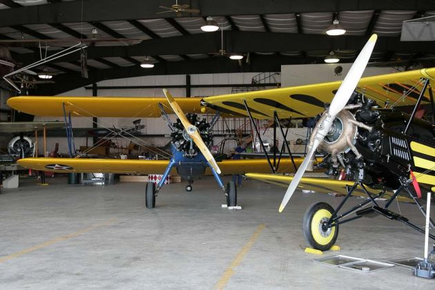 Curtiss-Wright Travel Air D-4000 Speed Wing - Owls Head Transportation Museum