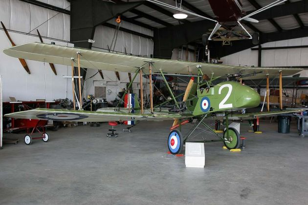 Royal Aircraft Factory F.E.8 - Owls Head Transportation Museum