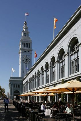 Ferry Building am Embarcardero, Fishermans Wharf - San Francisco