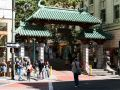 das Eingangstor zur San Francisco China Town