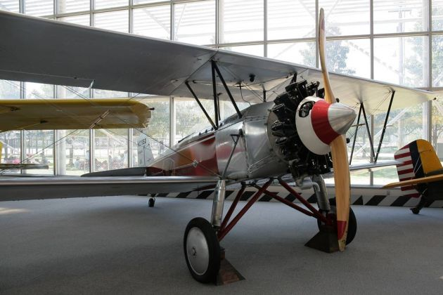 Stearman C-3 B Sport Commercial - Baujahr 1927 - The Museum of Flight, Boeing Field, Seattle, USA