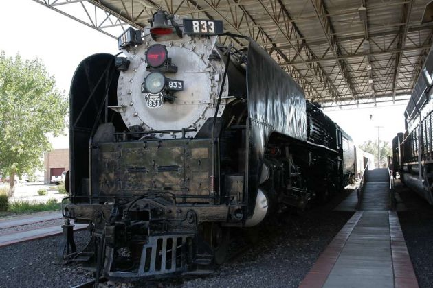 Dampflok Union Pacific Northern  833 - Utah State Railroad Museum