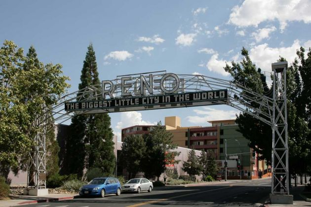 Reno, Nevada - the Biggest Little City in the World