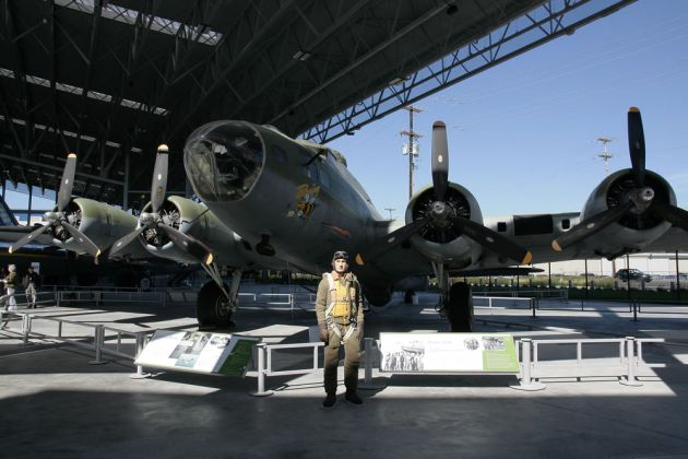 Boeing B-17 F Flying Fortress - Museum of Flight, Seattle