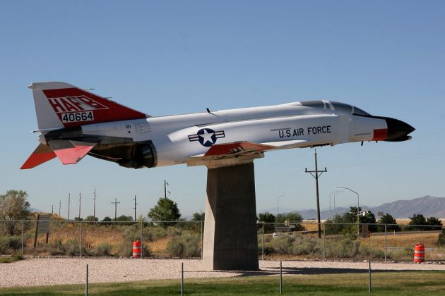 General Dynamics F-16A, Fighting Falcon - Hill Aerospace Museum, Utah