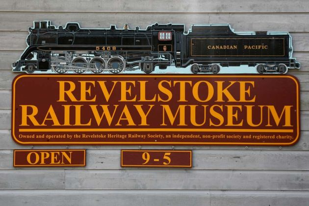 Revelstoke Railway Museum - Rocky Mountains, British Columbia