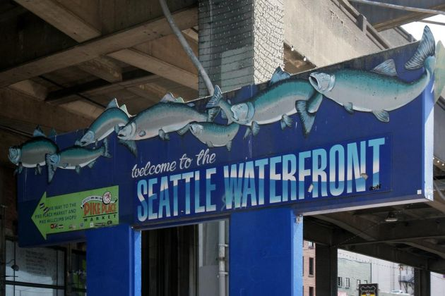 Seattle, Washington State - the Waterfront