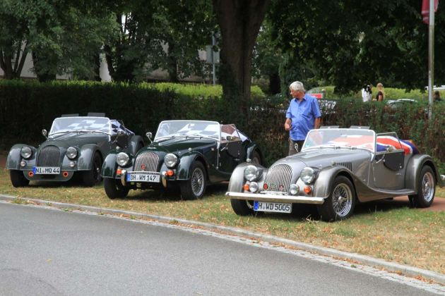 Morgan Parade - Roadster-Treffen Bad Rehburg