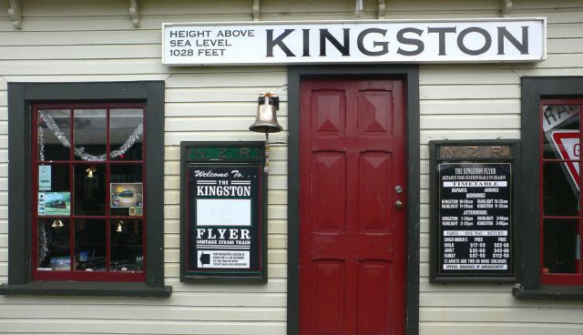 Kingston Flyer - Queenstown, Neuseeland