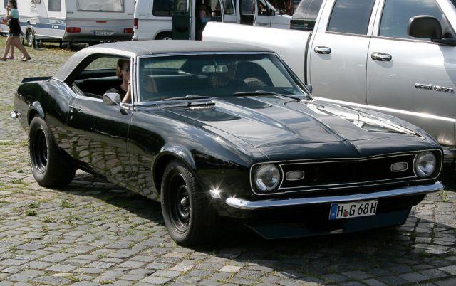 chevrolet camaro, muscle car fotos von general motors aus amerika