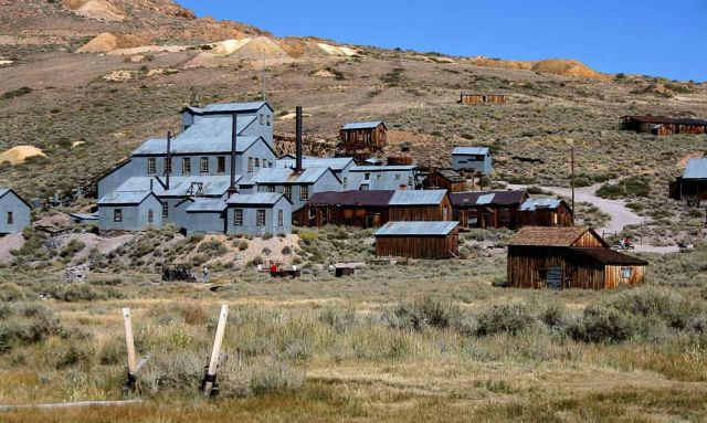 Standard Mill, Ghosttown Bodie - California